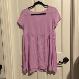 American Apparel Lavender Babydoll dress
